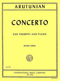 Arutunian - Concerto for Trumpet and Piano