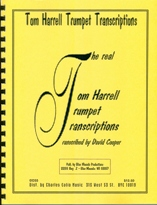 Harrell, Tom -- The Real Jazz Trumpet Transcriptions