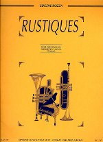 Bozza, Eugene - Rustiques for Trumpet and Piano