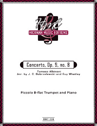 Albinoni, Tomaso - Concerto, Op. 9 No. 8