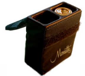 Monette Double Trumpet Mouthpiece Case