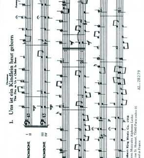 16 Chorales for Trombone Quartet - Bach