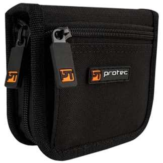 Pro Tec Nylon 2 Piece Zip Trombone Mouthpiece Pouch A222ZIP