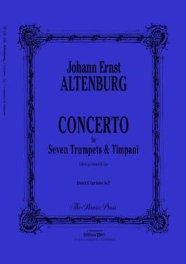 Altenburg -- Concerto for 7 Trumpets and Timpani