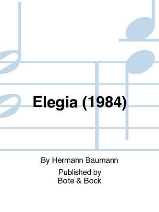 Baumann -- Elegia