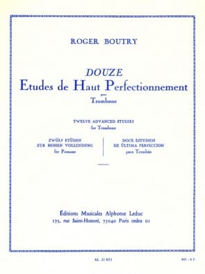 Boutry, Roger - 12 Etudes de Haut Perfectionnement