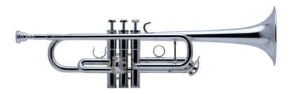 Schilke Custom Series CX C Trumpet in Silver
