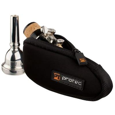 Pro Tec 1 piece Neoprene Trombone Mouthpiece Case N264