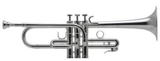 Schilke E3L Eb/D Trumpet in Silver