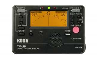 Korg Combo Tuner Metronome TM-50