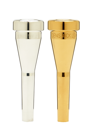 Denis Wick Heavy Top Trumpet Mouthpiece in Silver