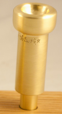 Austin Custom Brass Slug* Blank Mouthpiece