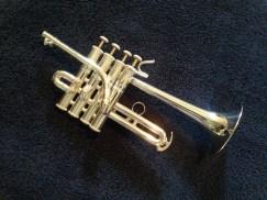 Larson Piccolo Trumpet Silver
