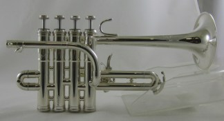 Schmidt Piccolo Trumpet in Bb/A SN 053820