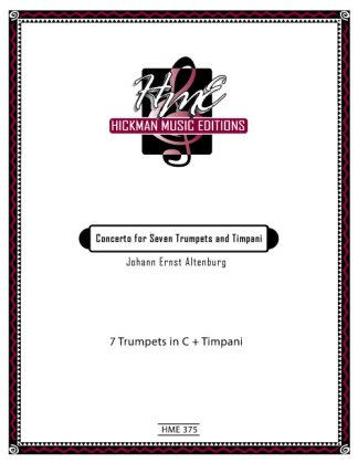 Altenburg, Johann Ernst - Concerto for Seven Trumpets and Timpani