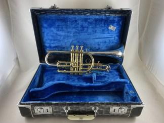 Used King Silver Sonic Bb Cornet SN 391851