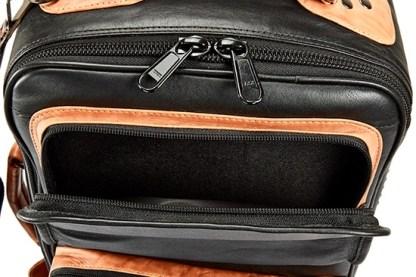 4-ECLK GARD Elite Compact Double Trumpet Gig Bag Leather