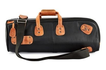 1-ELK GARD Elite Single Trumpet Gig Bag Leather