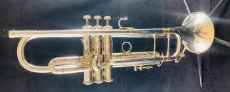 Used Bach Stradivarius 180S-37 Bb Trumpet SN 72689
