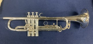 Used King Silver Flair Bb Trumpet SN 468292