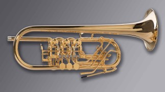 "Oberrauch Rotary Trumpet in C Model ""Uberetsch"""