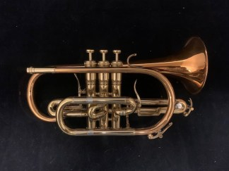 Used King 2220 Shephard's Crook Bb Cornet SN 618402