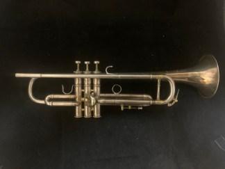 Used LA Benge 3X Bb Trumpet SN 43284