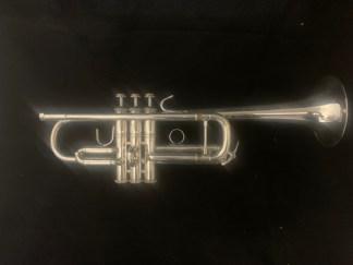 Used Bach Stradivarius C180S-229* C Trumpet SN 178256