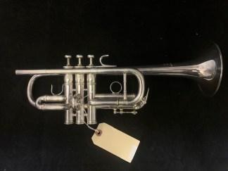 Used LA Benge Eb/D Trumpet SN 9518