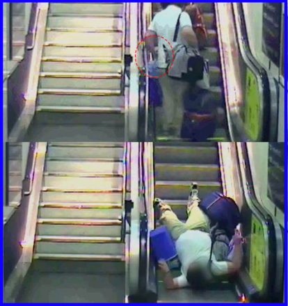 Escalator Accident, Danger, Safety