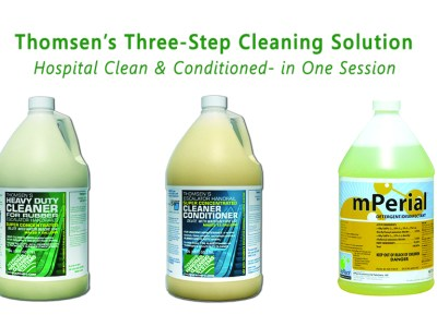 Thomsen's Three-Step Cleaning Solution