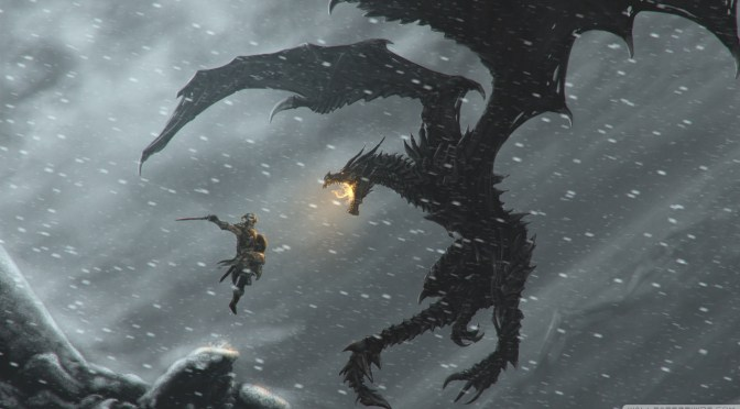The Dragonborn returns, after about a year…