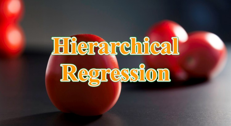 hierarchical regression - Hồi quy phân cấp Hierarchical regression