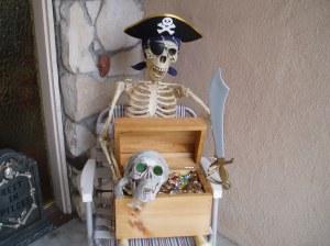 Hal's Halloween Pirate