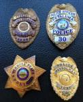 Petaluma Police badges