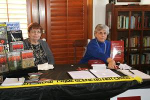 Marilyn Meredith on left