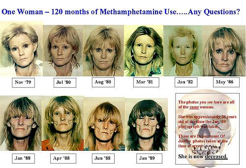 woman on meth