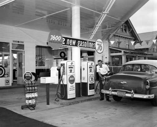 old timer gas station