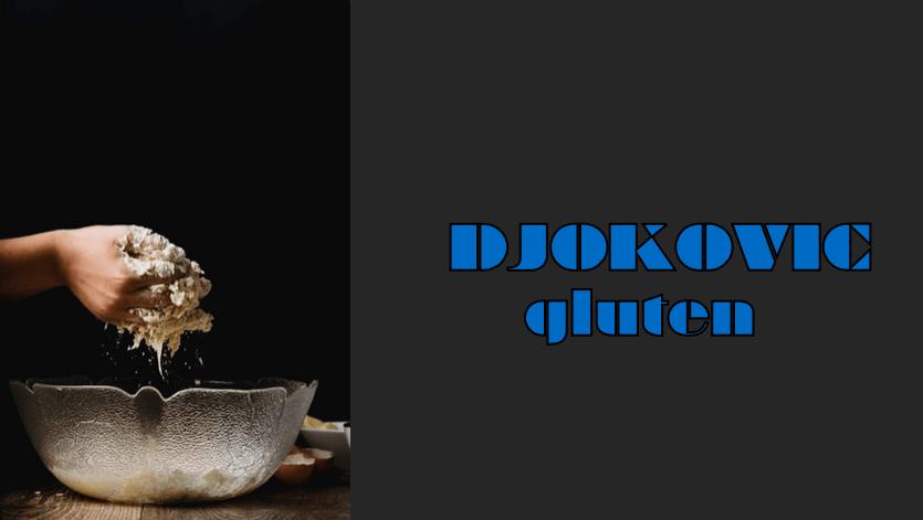 ジョコビッチの食事、グルテンフリーについて