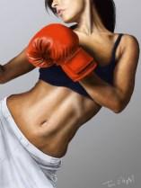 boxeuse abdomen