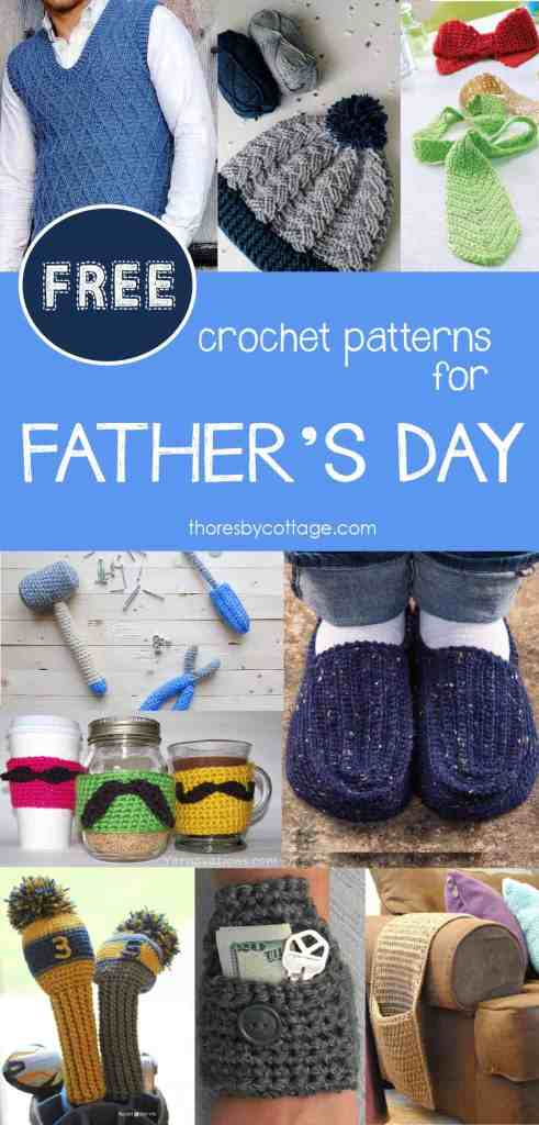 Free Father's Day crochet patterns