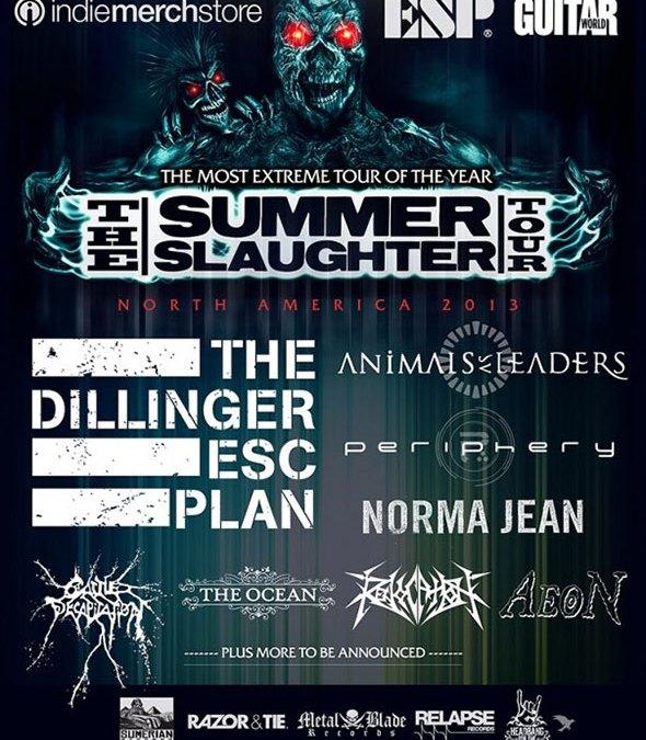 Incoming: Summer Slaughter @ Metropolis