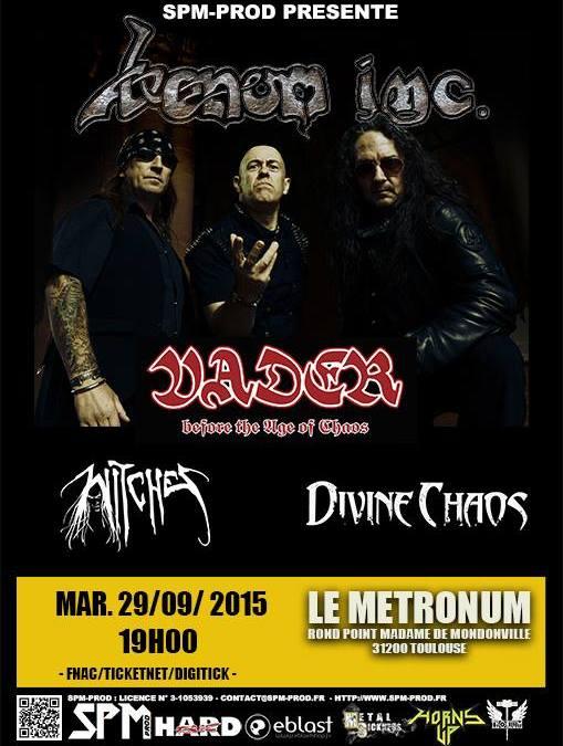 Incoming: Venom Inc @ Le Metronum (Toulouse)
