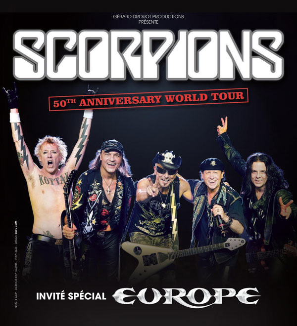 Incoming: Scorpions @ Le Zénith (Toulouse)