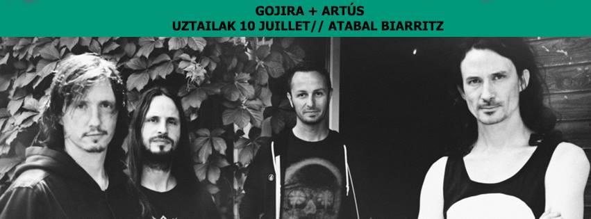 Incoming : Gojira @ Atabal (Biarritz)
