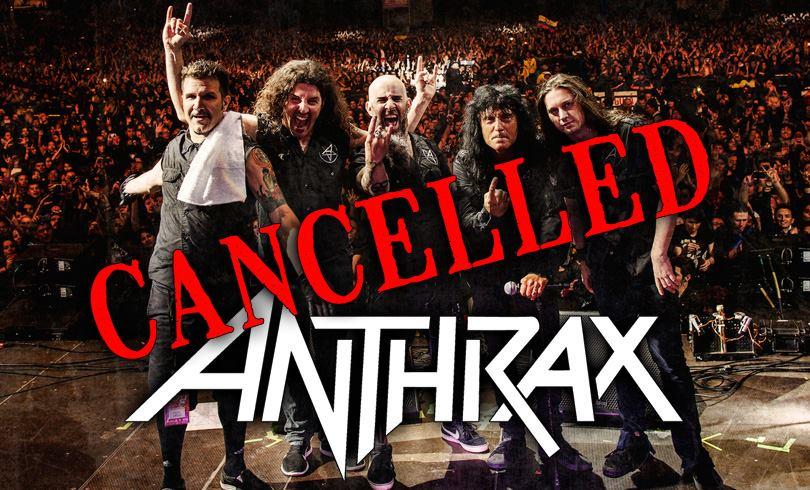 Summer Breeze 2016 : Annulation d'Anthrax