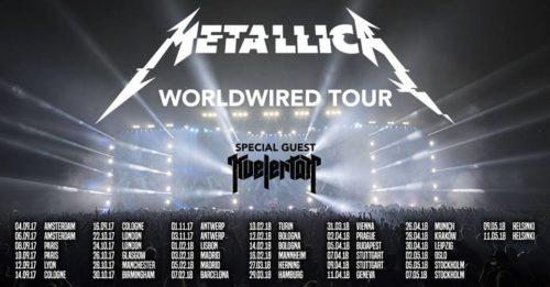 "<span class=""entry-title-primary"">Metallica</span> <span class=""entry-subtitle"">Tournée Européenne 2017/2018</span>"