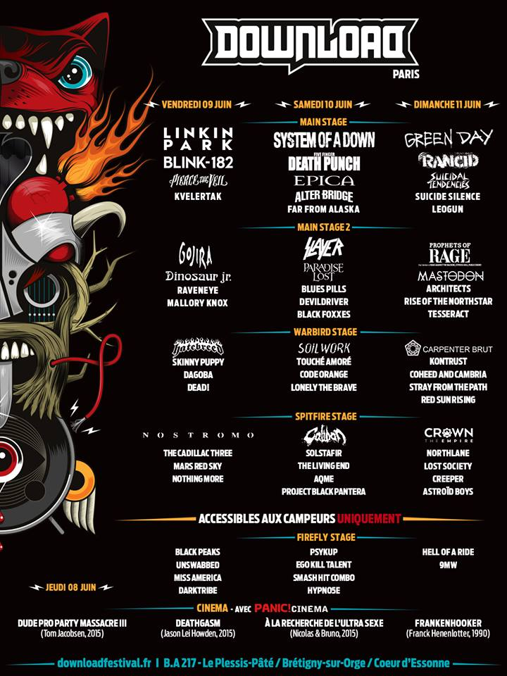 """<span class=""""entry-title-primary"""">Download Festival France 2017</span> <span class=""""entry-subtitle"""">Le Line Up complet</span>"""