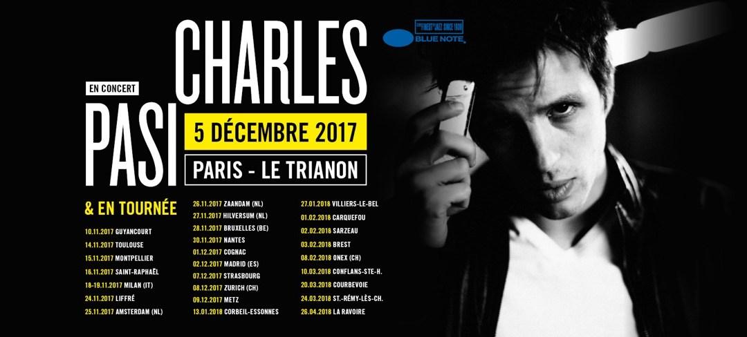 Charles Pasi @ Salle Nougaro (Toulouse)