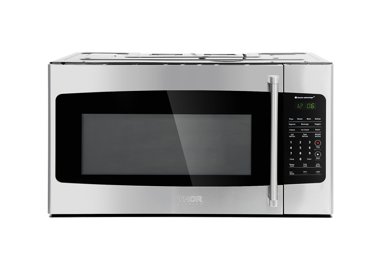 where to put microwave in small kitchen
